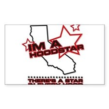 I'm A HoodStar Rectangle Decal