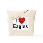 I Love Eagles for Eagle Lovers Tote Bag