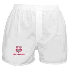 Sara is Daddy's Valentine Boxer Shorts