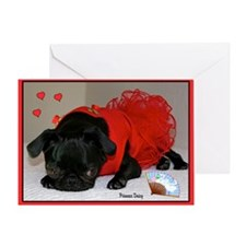 Loving You Valentine Greeting Card