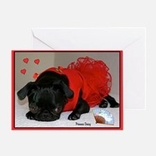 Loving You Valentine Greeting Card