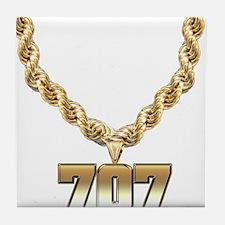 707 Gold Chain Tile Coaster