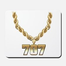 707 Gold Chain Mousepad