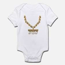 707 Gold Chain Onesie