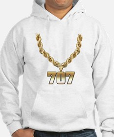 707 Gold Chain Hoodie