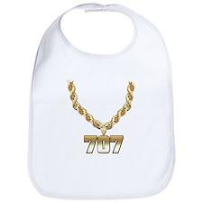 707 Gold Chain Bib
