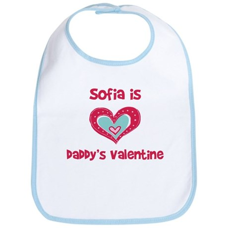 Sofia is Daddy's Valentine Bib