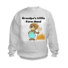 Grandpa's Little Farmhand Sweatshirt