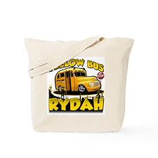 Yellow Bus Rydah Tote Bag