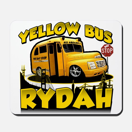 Yellow Bus Rydah Mousepad