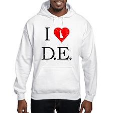 I Love DE Hoodie