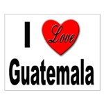 I Love Guatemala Small Poster