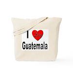 I Love Guatemala Tote Bag
