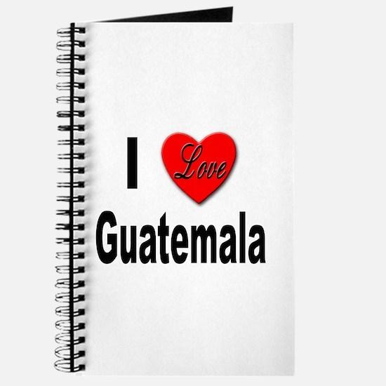 I Love Guatemala Journal