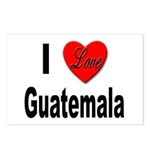 I Love Guatemala Postcards (Package of 8)