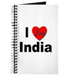 I Love India Journal