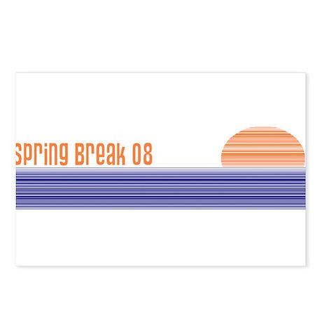 Spring Break 2008 Postcards (Package of 8)