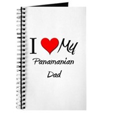 I Love My Panamanian Dad Journal