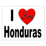 I Love Honduras Small Poster