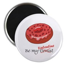 "Be My Donut Valentine 2.25"" Magnet (100 pack)"