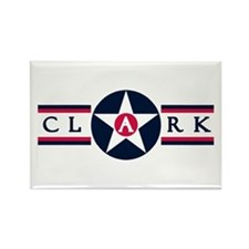 Clark Air Base Rectangle Magnet