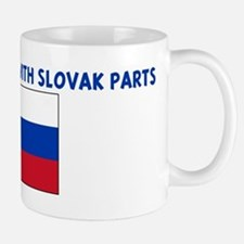 MADE IN AMERICA WITH SLOVAK P Mug