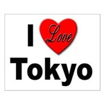 I Love Tokyo Small Poster
