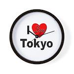I Love Tokyo Wall Clock