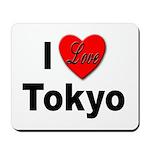 I Love Tokyo Mousepad