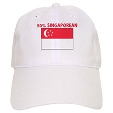 50 PERCENT SINGAPOREAN Baseball Cap