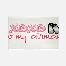 Funny Air kisses Rectangle Magnet