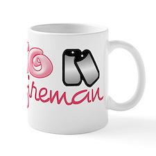 Fireman fiancee Mug
