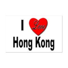 I Love Hong Kong Posters