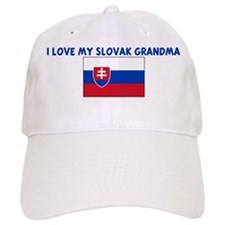 I LOVE MY SLOVAK GRANDMA Baseball Cap