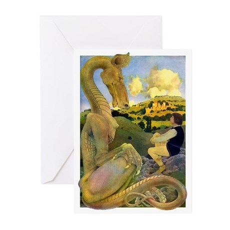 DRAGON TALES Greeting Cards (Pk of 10)