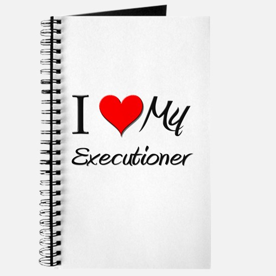 I Heart My Executioner Journal