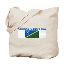 SOLOMON ISLANDER KING Tote Bag