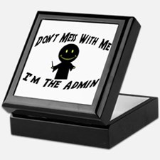 I'm The Admin Keepsake Box