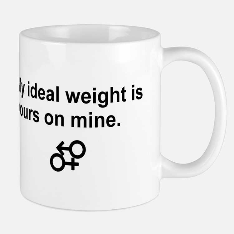 my ideal weight Mugs