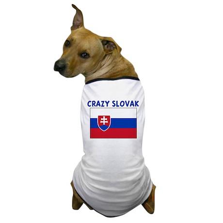 CRAZY SLOVAK Dog T-Shirt