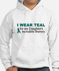 Teal For My Daughter's Bravery 1 Hoodie