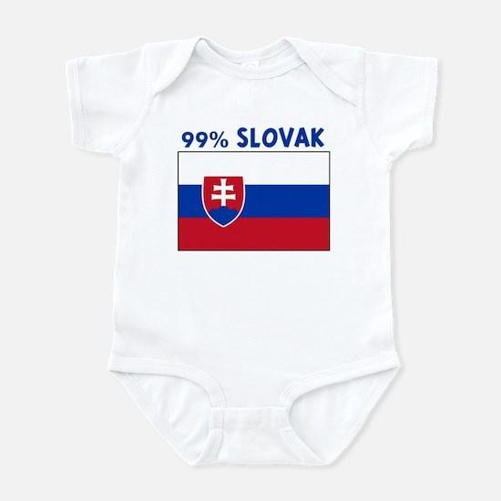 99 PERCENT SLOVAK Infant Bodysuit