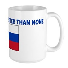 75 PERCENT SLOVAK IS BETTER T Mug
