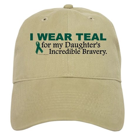 Teal For My Daughter's Bravery 1 Cap