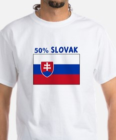50 PERCENT SLOVAK Shirt
