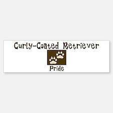 Curly-Coated Retriever Pride Bumper Bumper Bumper Sticker
