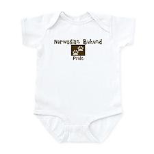 Norwegian Buhund Pride Infant Bodysuit