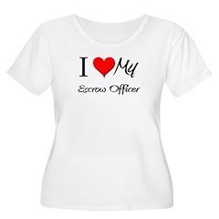 I Heart My Escrow Officer T-Shirt