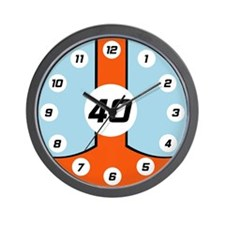 The Legend Lives On Wall Clock