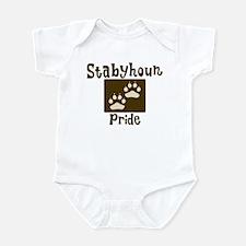 Stabyhoun Pride Infant Bodysuit
